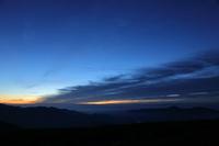岐阜県 大黒岳(乗鞍岳)からの夜明け