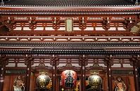 東京都 浅草寺 宝蔵門