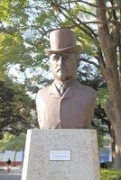 神奈川県 リチャード・ヘンリー・ブラントンの胸像
