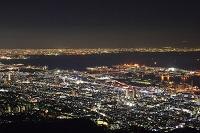 摩耶山から望む神戸市街 夜景