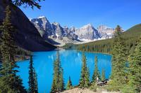 カナダ アルバータ州 カナディアン・ロッキー山脈 バンフ国立公...