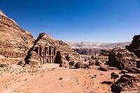 ヨルダン ペトラ遺跡 エド・ディル 修道院