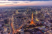 東京都 東京タワー夜景