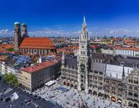 ドイツ ミュンヘン 新市庁舎/俯瞰