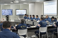 豊島区総合防災訓練 災害対策本部立ち上げ訓練