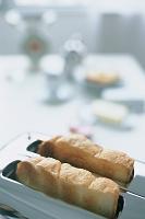 トースターのパン