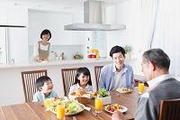 朝の食卓イメージ