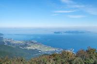 滋賀県 びわ湖テラスより北東を望む