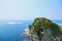 千葉県 鵜原海岸の絶壁