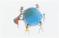フィギュア 地球と若者達