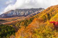 鳥取県 江府町 鍵掛峠から大山