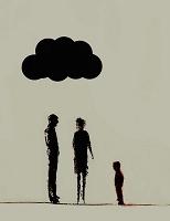 雲の下の家族