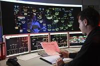 ドイツ エネルギー施設の制御室