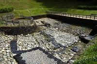 奈良県 明日香村 酒船石遺跡の亀形小判形石造物