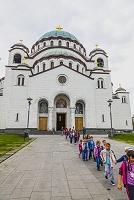 セルビア ベオグラード 聖サヴァ大聖堂