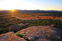 南アフリカ共和国 ナマクワランドの朝