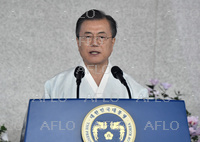 韓国で「光復節」の式典