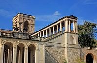 ドイツ ポツダムの公園と宮殿