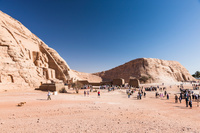 エジプト アブ・シンベル神殿 全容