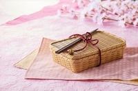 竹籠のお弁当