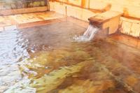 青森県 冬の温泉のイメージ