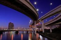 東京都 有明ジャンクションの夜景