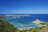 小笠原諸島の父島 中山峠より南島