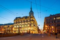ロシア サンクトペテルブルクの街並み