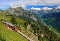 スイス シーニゲ・プラッテ鉄道