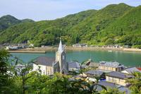 熊本県 崎津教会と漁村の集落