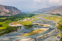 パキスタン スワート地区 スワート渓谷眺望