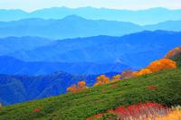 長野県 乗鞍高原と山並み