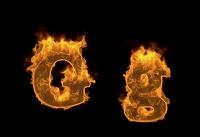 炎のアルファベットG