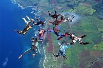 アメリカ合衆国 ハワイ オアフ島 スカイダイビング