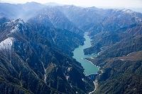 富山県 黒部ダムと黒部湖