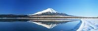 山梨県 逆さ富士