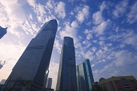 中国 上海 浦東・陸家嘴高層ビル群