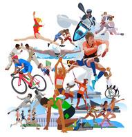 スポーツとオリンピク施設