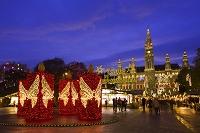 オーストリア ウィーン 市庁舎前広場のクリスマスマーケット