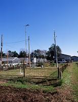 アメダスの観測施設 11.24 東京都 府中市