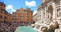 イタリア ローマ ローマ歴史地区 トレヴィの泉