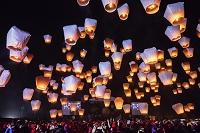 台湾 平溪天燈節