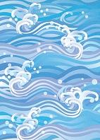 海のしぶき
