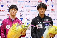 卓球:アジア選手権 日本代表 選考会