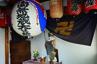 滋賀県 義仲寺 巴地蔵堂
