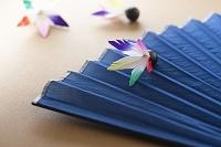 扇子と羽子板の羽根