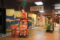 京都府 祇園祭宵山 屏風祭とミニチュアの鉾