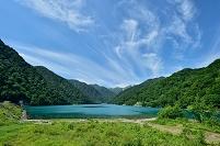 岐阜県 白水湖