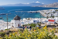 ギリシャ ボニの風車
