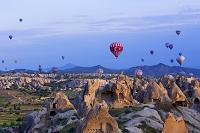トルコ カッパドキア 熱気球